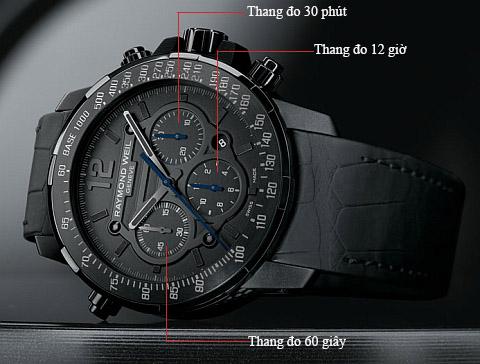 dong ho chronograph 1