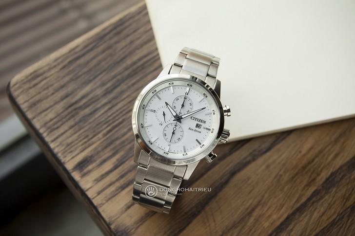 Đồng hồ nam Citizen CA0610-52A bộ máy năng lượng ánh sáng - Ảnh 1