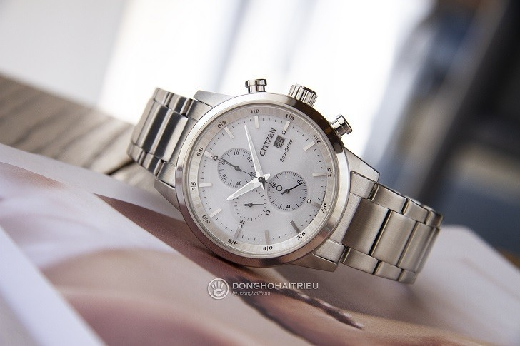 Đồng hồ nam Citizen CA0610-52A bộ máy năng lượng ánh sáng - Ảnh 5