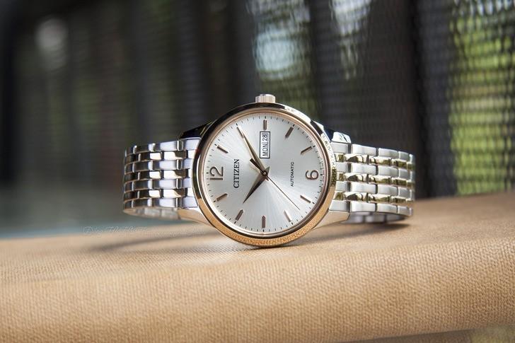 Đồng hồ Citizen NH7504-52A Automatic giá rẻ trữ cót 40 giờ - Ảnh 1