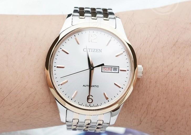Đồng hồ Citizen NH7504-52A Automatic giá rẻ trữ cót 40 giờ - Ảnh 2
