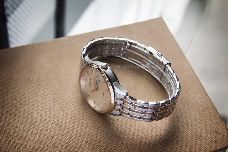 Đồng hồ Citizen NH7504-52A Automatic giá rẻ trữ cót 40 giờ - Ảnh 3