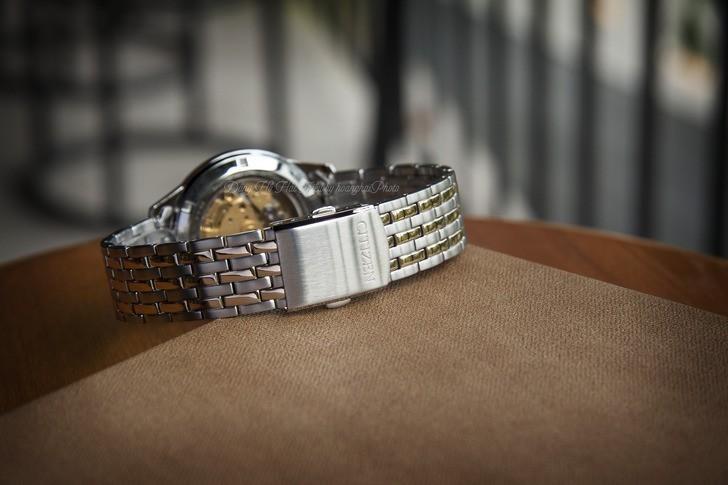 Đồng hồ Citizen NH7504-52A Automatic giá rẻ trữ cót 40 giờ - Ảnh 4