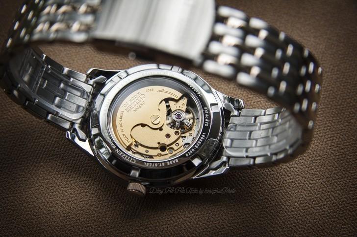 Đồng hồ Citizen NH7504-52A Automatic giá rẻ trữ cót 40 giờ - Ảnh 5