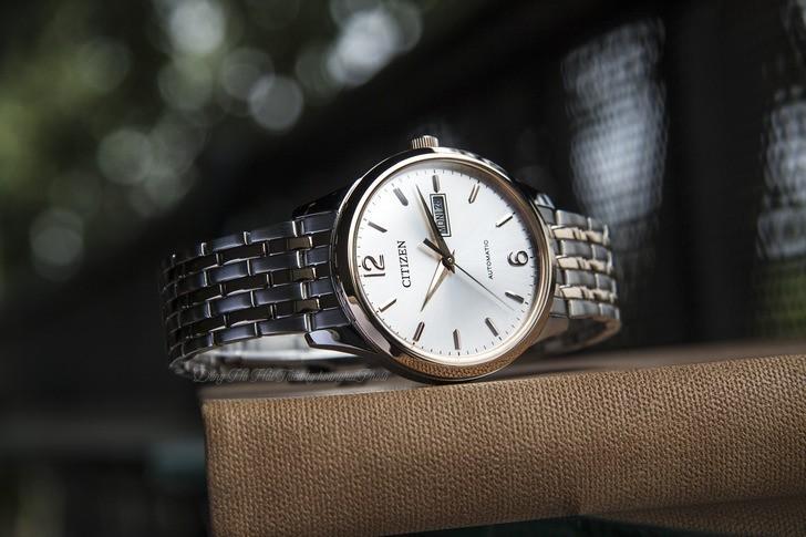 Đồng hồ Citizen NH7504-52A Automatic giá rẻ trữ cót 40 giờ - Ảnh 6