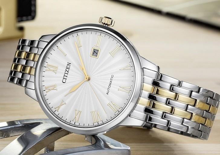 Đồng hồ Citizen NJ0084-59A máy automatic, trữ cót 40 giờ - Ảnh: 2