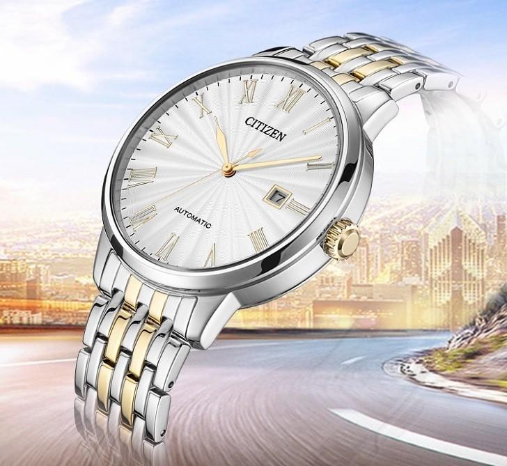 Đồng hồ Citizen NJ0084-59A máy automatic, trữ cót 40 giờ - Ảnh: 3