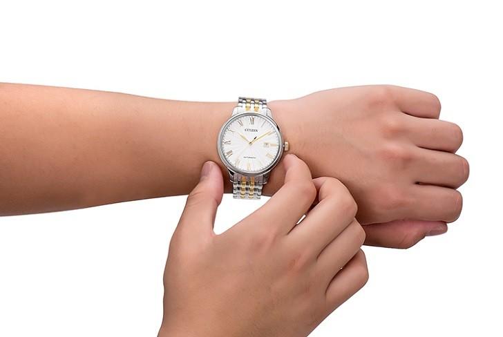Đồng hồ Citizen NJ0084-59A máy automatic, trữ cót 40 giờ - Ảnh: 6