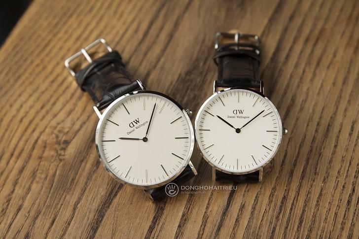 Đồng hồ nam Daniel Wellington DW00100028 thay pin miễn phí - Ảnh 1