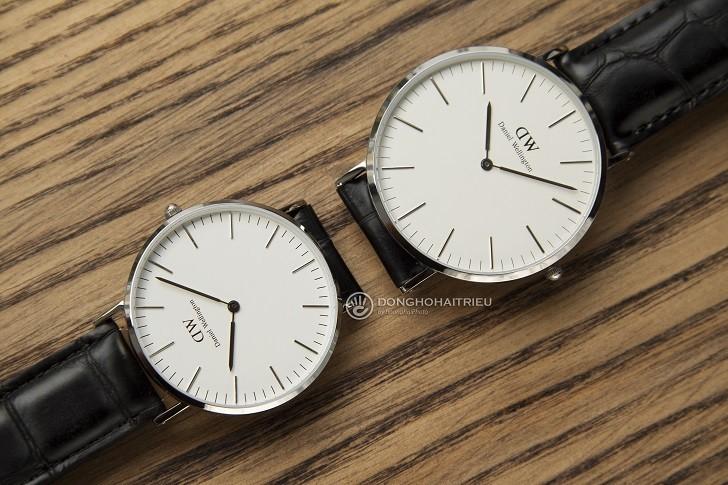 Đồng hồ nam Daniel Wellington DW00100028 thay pin miễn phí - Ảnh 3