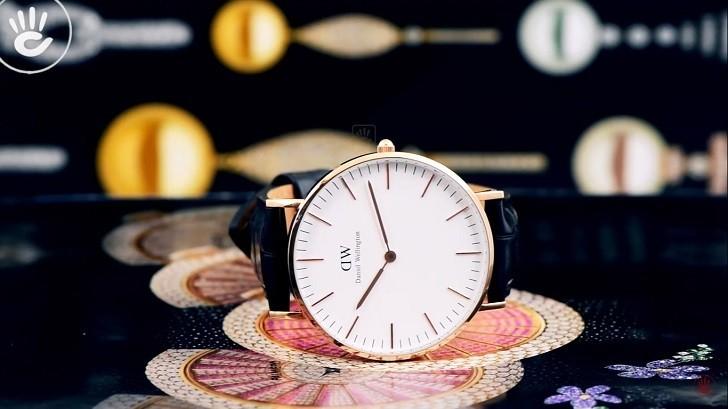 Đồng hồ nữ Daniel Wellington DW00100041 thay pin miễn phí - Ảnh 1
