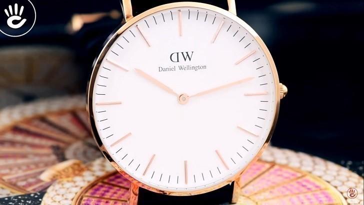 Đồng hồ nữ Daniel Wellington DW00100041 thay pin miễn phí - Ảnh 2