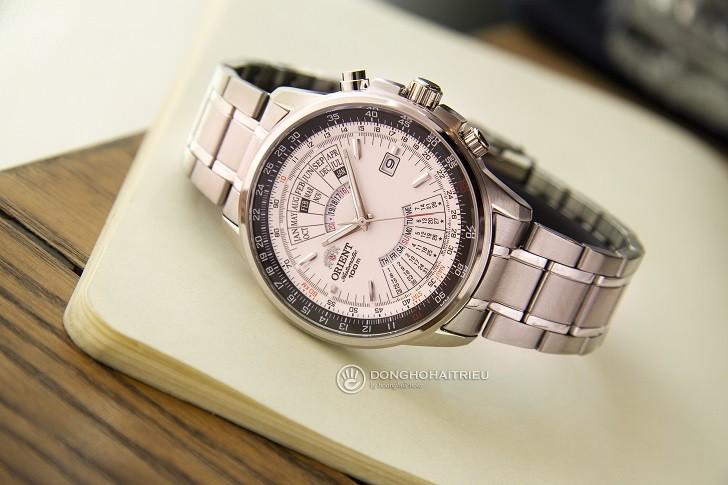Orient FEU07005WX chỉ 4 triệu đồng cho đồng hồ cơ có thiết kế ấn tượng - Ảnh 2