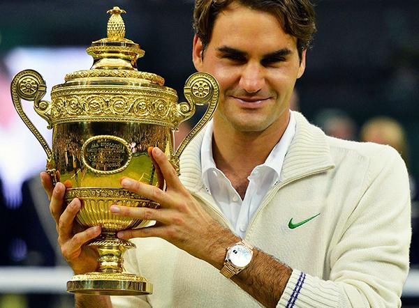 dong ho cua Roger Federer 2