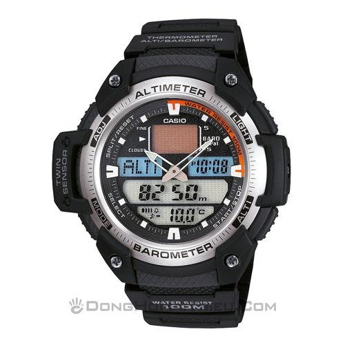 Ý Nghĩa Dòng Chữ Altimeter Là Gì Trên Mặt Đồng Hồ SP2 SGW-400H-1BVDR