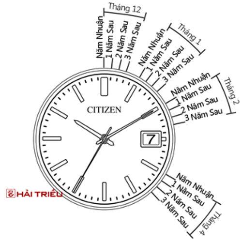 Cách Chỉnh Đồng Hồ Citizen Eco Drive Lịch Vạn Niên Lịch