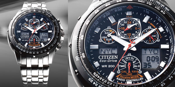 dong ho Citizen Eco-Drive Radio Controlled