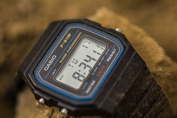 dong ho casio f-91w