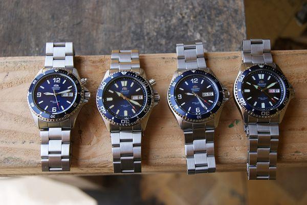 Lịch Sử Huyền Thoại Đồng Hồ Lặn Orient Mako Và Orient Ray Mako II Và Ray II