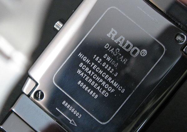 Chia sẻ cách phân biệt đồng hồ Rado thật giả dễ dàng nhất - Ảnh: 3