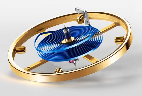 Kỳ Diệu Dây Tóc Xanh Làm Từ Parachrom Blue Của Đồng Hồ Cơ Rolex 2