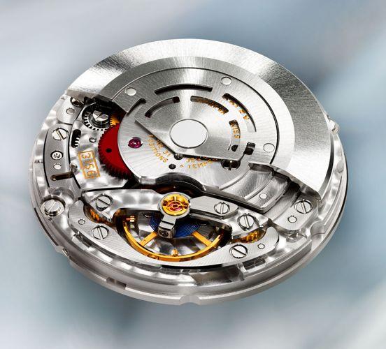 Kỳ Diệu Dây Tóc Xanh Làm Từ Parachrom Blue Của Đồng Hồ Cơ Rolex PB