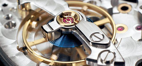 Kỳ Diệu Dây Tóc Xanh Làm Từ Parachrom Blue Của Đồng Hồ Cơ Rolex Cận Cảnh Co