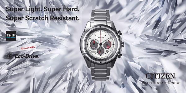 Đâu Là Những Công Nghệ Tuyệt Vời Nhất Của Citizen Super Titanium