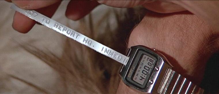 Đây Là Toàn Bộ Đồng Hồ James Bond – Điệp Viên 007 Đã Dùng 1977