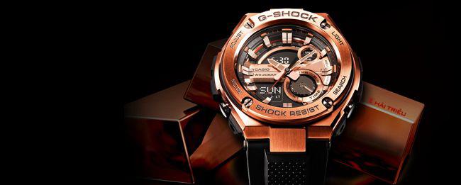 Hé Mở Bí Ẩn Cách Chống Sốc Của Đồng Hồ Casio G-Shock 1