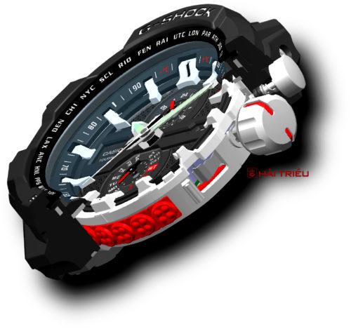 Hé Mở Bí Ẩn Cách Chống Sốc Của Đồng Hồ Casio G-Shock Chống Rung