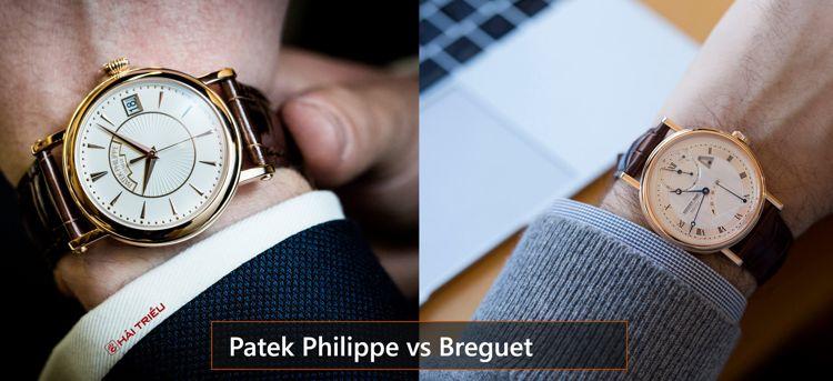 Khi Thương Hiệu Lớn Choảng Nhau: Đồng Hồ Của Ai Giá Rẻ Hơn Patek Philippe Breguet