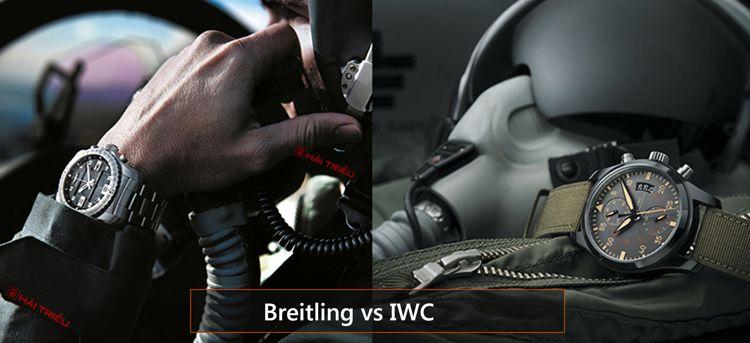 Khi Thương Hiệu Lớn Choảng Nhau: Đồng Hồ Của Ai Giá Rẻ Hơn Breitling IWC