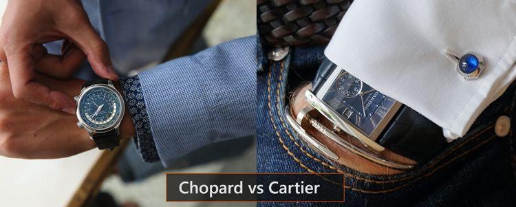 Khi Thương Hiệu Lớn Choảng Nhau: Đồng Hồ Của Ai Giá Rẻ Hơn Cartier Chopard