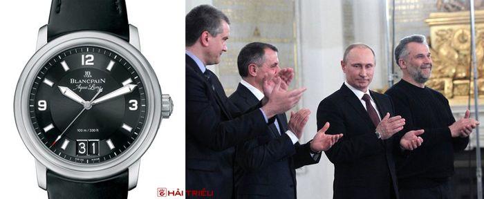 Sửng Sốt Bộ Sưu Tập Đồng Hồ Của Putin Chỉ Toàn Hiệu Xa Xỉ Blancpain Leman Aqua Lung Grande Date