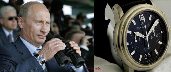 Sửng Sốt Bộ Sưu Tập Đồng Hồ Của Putin Chỉ Toàn Hiệu Xa Xỉ Blancpain Leman Flyback