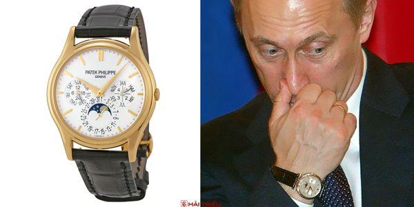 Sửng Sốt Bộ Sưu Tập Đồng Hồ Của Putin Chỉ Toàn Hiệu Xa Xỉ Patek Philippe Perpetual Calendar