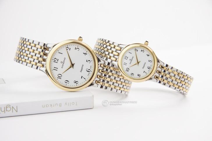 Đồng hồ Candino C4415/3 thanh lịch, dây demi sang trọng - Ảnh 1