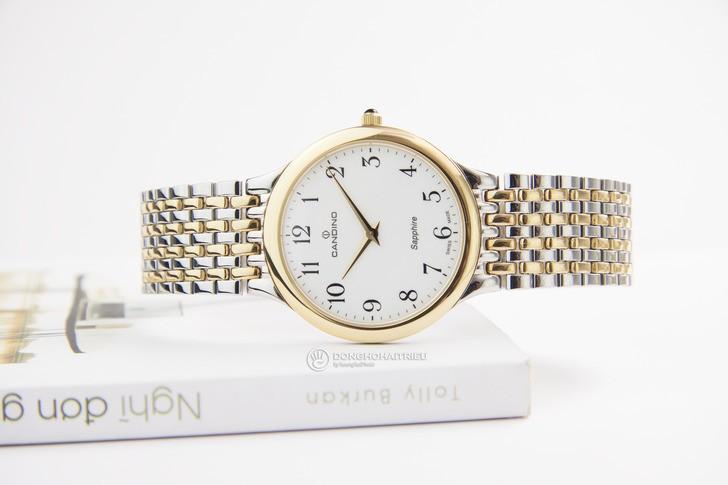 Đồng hồ Candino C4415/3 thanh lịch, dây demi sang trọng - Ảnh 2