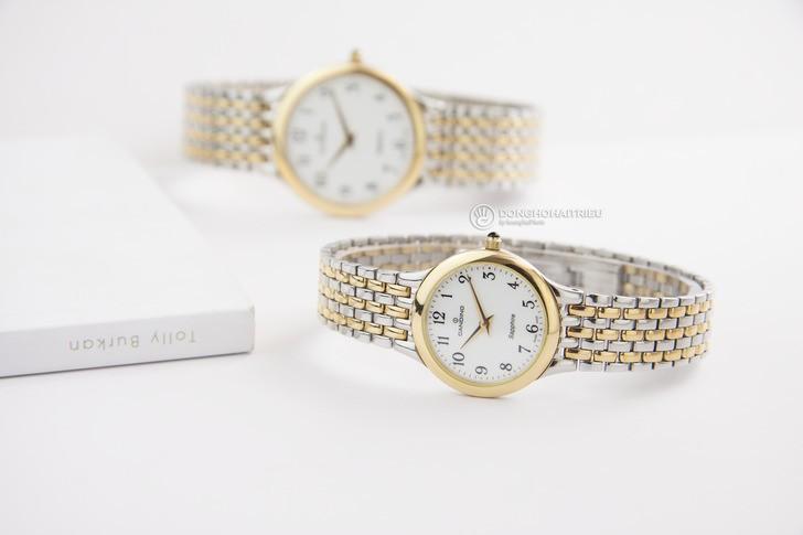 Đồng hồ Candino C4415/3 thanh lịch, dây demi sang trọng - Ảnh 3