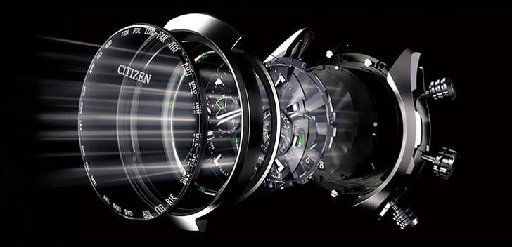 Đồng hồ Eco-Drive Citizen EM0424-88A năng lượng ánh sáng - Ảnh 6