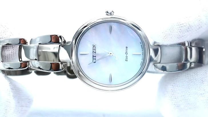 Đồng hồ Eco-Drive Citizen EM0424-88A năng lượng ánh sáng - Ảnh 7
