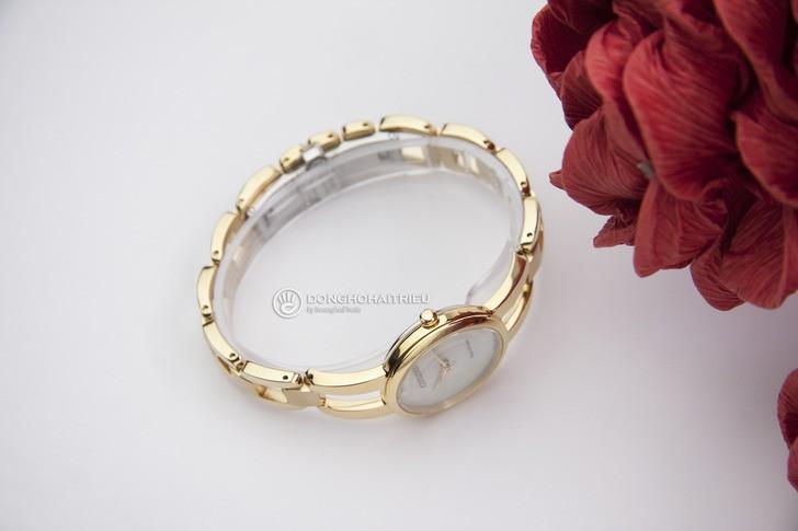 Đồng hồ Citizen EM0432-80Y: Thiết kế với dây đeo lạ mắt - Ảnh 5