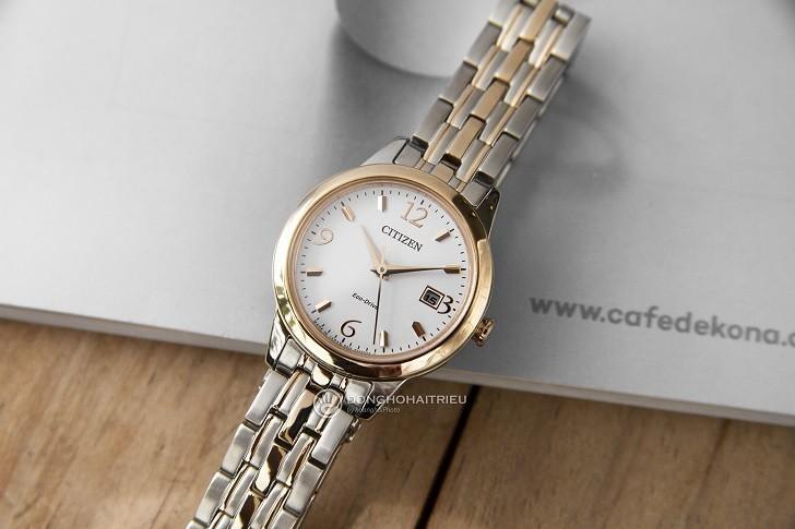 Đồng hồ nữ Citizen EW2234-55A bộ máy năng lượng ánh sáng - Ảnh 1