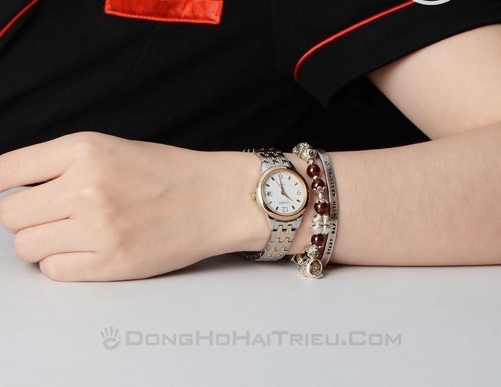 Đồng hồ nữ Citizen EW2234-55A bộ máy năng lượng ánh sáng - Ảnh 2