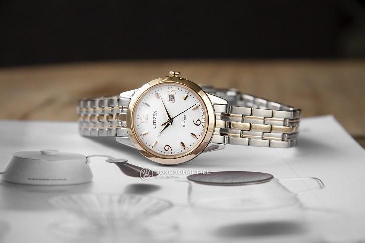 Đồng hồ nữ Citizen EW2234-55A bộ máy năng lượng ánh sáng - Ảnh 3