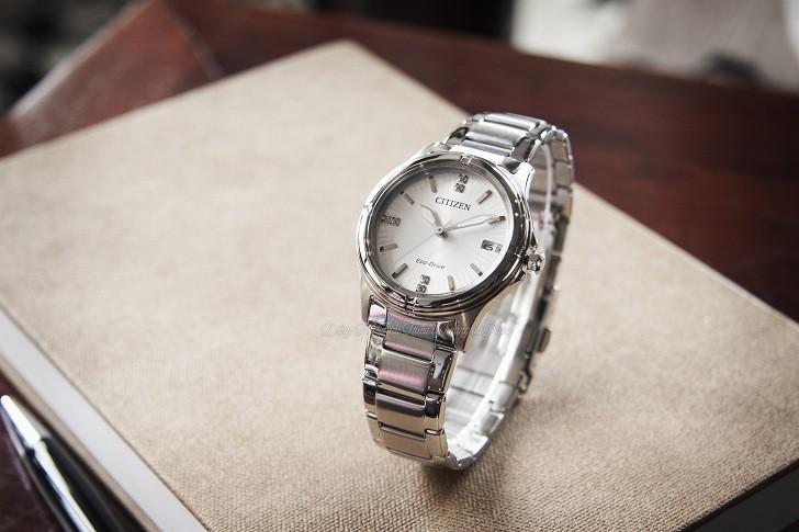 Đồng hồ Citizen FE6050-55A bộ máy pin hiện đại Eco-Drive - Ảnh 2