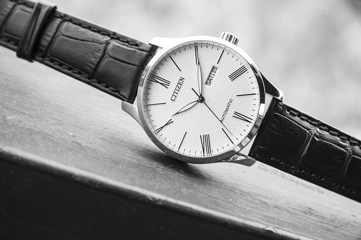 Đồng hồ Citizen NH8350-08A automatic, trữ cót hơn 40 giờ - Ảnh 1