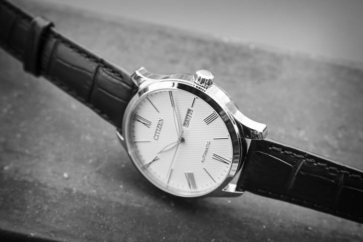 Đồng hồ Citizen NH8350-08A automatic, trữ cót hơn 40 giờ - Ảnh 3