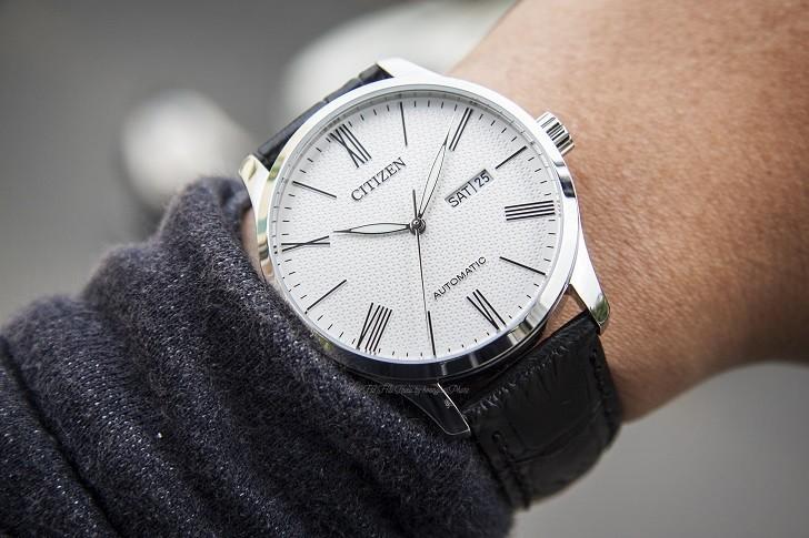 Đồng hồ Citizen NH8350-08A automatic, trữ cót hơn 40 giờ - Ảnh 4